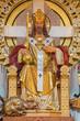 Vienna - modern Christ the King statue in Carmelites church