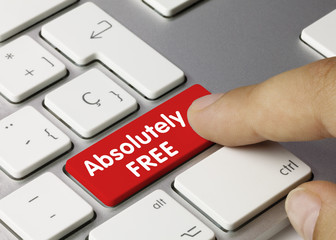 Absolutely Free. keyboard