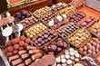 Chocolate candies - Boqueria Market, Barcelona
