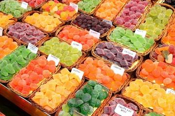 Sweets - Boqueria Market, Barcelona