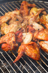 chicken wings on the grill garden barbecue party