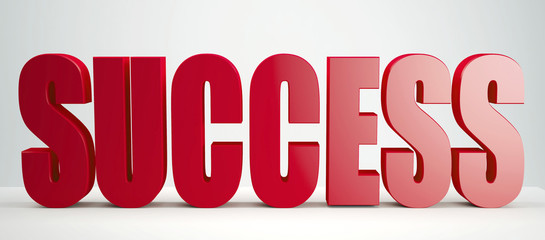 red Success sign