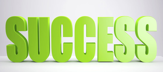 green Success sign