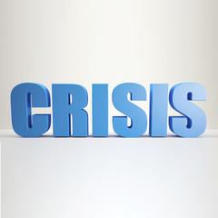 blue Crisis sign