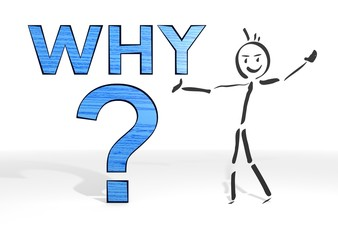stick man presents why symbol