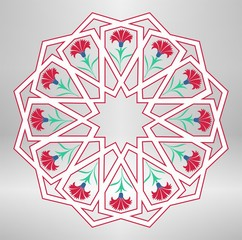 traditional ottoman geometric design
