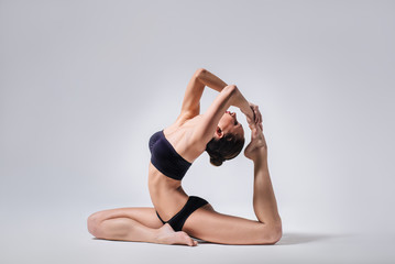 the yoga woman