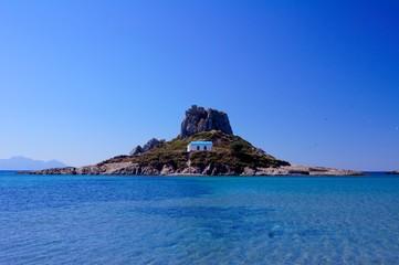 Kefalos church on island
