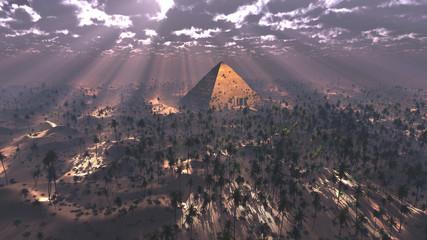 Pyramids light magic