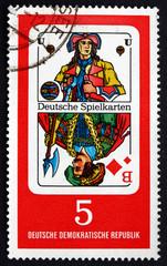 Postage stamp GDR 1967 Georg Herwegh, Poet
