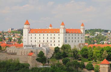 Ancient castle. Bratislava, Slovakia