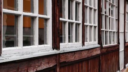 Old windows, Donovaly, Slovakia