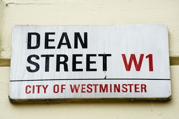 Dean Street street sign