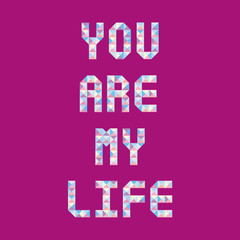 You are my life1