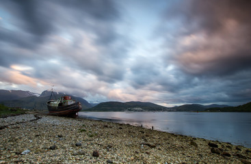 shipwreck Fort William Scotland