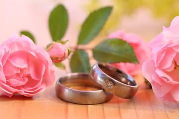 ringe und Rosen