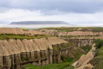 Anatolia, Cappadocia, fantastic mountain landscape