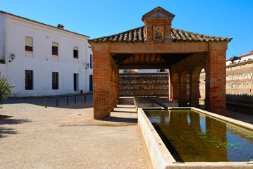 Old Laundry source, Aracena, Spain