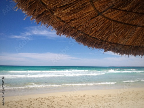 canvas print picture erholung am strand