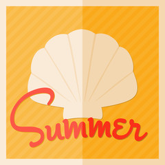 Colorful Summer Poster Design