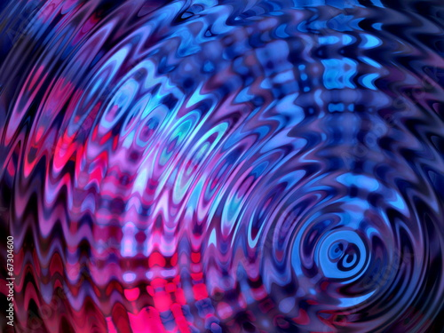 Colorful Water Resonance Background © Budai Romeo Gabor