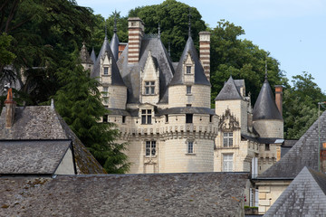 Castel of Rigny-Usse . Loire Valley, France