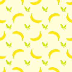 vector_banana-pattern