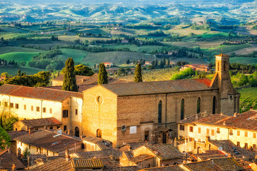 View From San Gimignano Tower