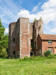 The ruins of Otford Palace, Kent, England, UK.
