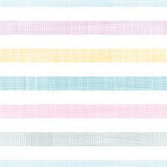 Abstract textile colorful stripes seamless pattern background