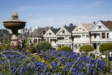 five famous painted sister houses in san francisco california