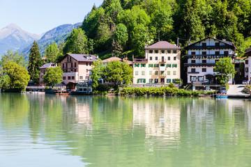 Lago di Alleghe, Alleghe, Dolomieten