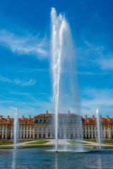 Springbrunnen vor Schloss Schleißheim