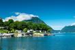 Lugano lake, Italy