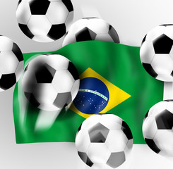 Football Soccer Flag Design