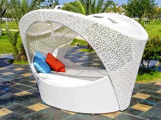 Armchair in a luxury resort