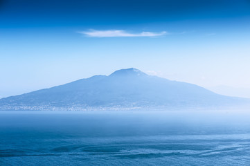 Vesuvius from Amalfi