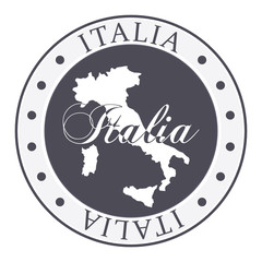 Italy stamp.
