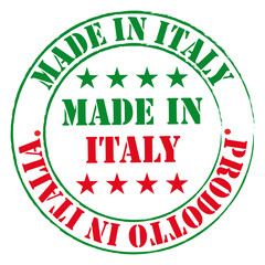 Made in Italy stamp.