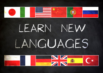 Learn new languages