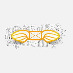 Drawing business formulas: envelope