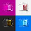 Drawing business formulas: calculator