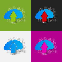 Drawing business formulas: cloud