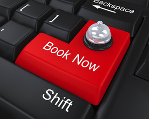 Book Now Enter Key