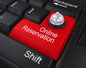 Online Reservation Enter Key