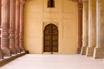 Palace in Jaipur fort India