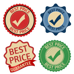 Best price promotional label, sticker or stamps