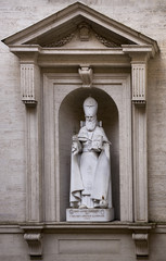 Statue of St. Gregory the Illuminator in the Vatican. Italy