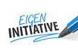 Eigeninitiative