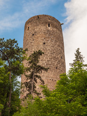 Round tower of Zebrak castle